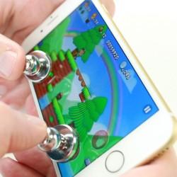Joysticks x2 pour Smartphone Jeux Video Manette Ventouse Precision Universel