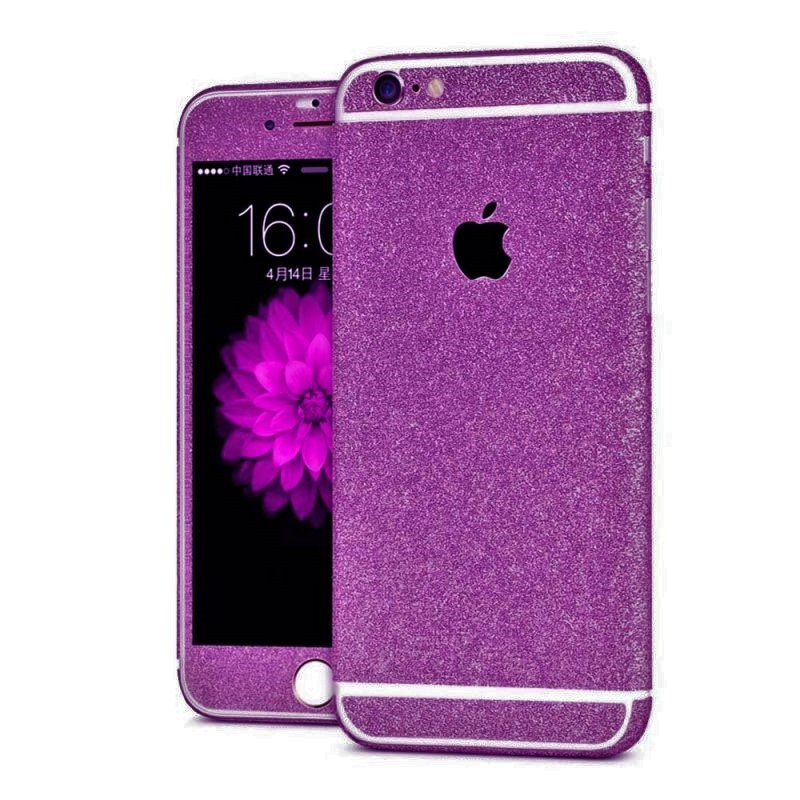 coque iphone 6 paillette noir