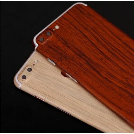 sticker autocollant iphone 8 plus int gral apple effet bois avant arri re shot case. Black Bedroom Furniture Sets. Home Design Ideas