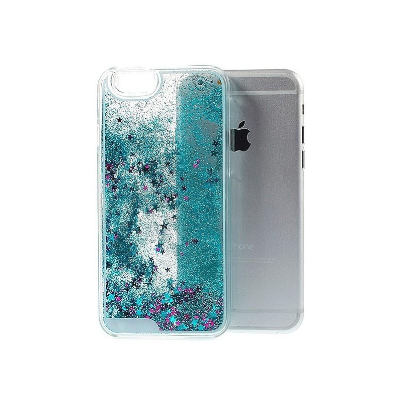 coque iphone 7 paillettes liquide