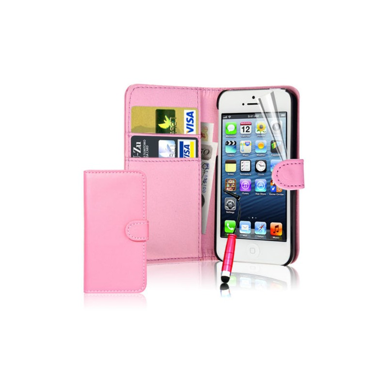 Coque portefeuille iphone se protection apple int rieur for Interieur iphone