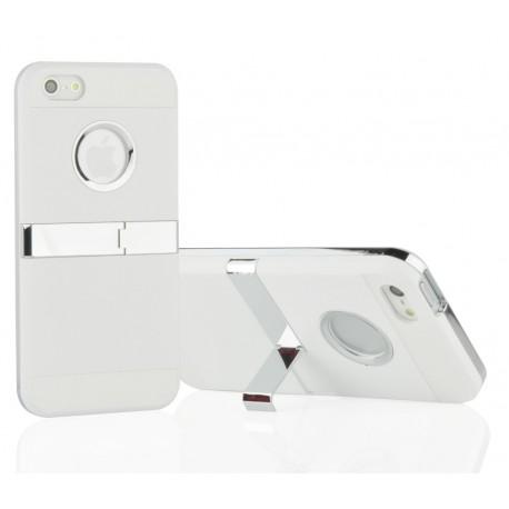 Coque Silver Line Chrome avec béquille IPHONE 5/5S Couleurs