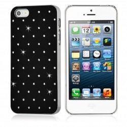 Coque Housse Etui Strass IPHONE SE Couleurs Diamant Cristal