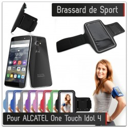 Brassard Sport Alcatel Onetouch Idol 4 pour Courir Respirant Housse Etui coque T6