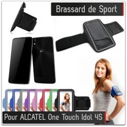 Brassard Sport Alcatel Onetouch Idol 4S pour Courir Respirant Housse Etui coque T7