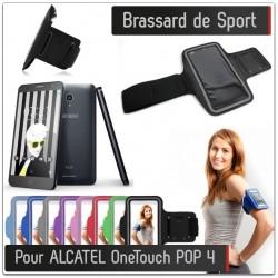 Brassard Sport Alcatel Onetouch POP 4 pour Courir Respirant Housse Etui coque T6