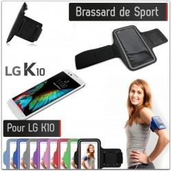 Brassard Sport LG K10 4G pour Courir Respirant Housse Etui coque T6