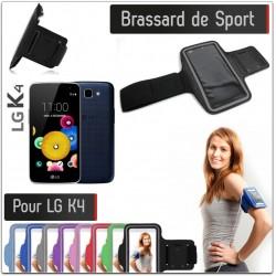 Brassard Sport LG K4 4G pour Courir Respirant Housse Etui coque S4