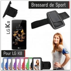 Brassard Sport LG K8 4G pour Courir Respirant Housse Etui coque T6