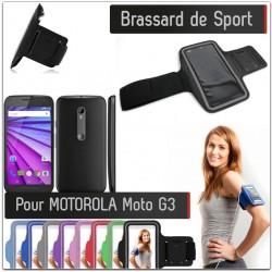 Brassard Sport MOTOROLA Moto G3 pour Courir Respirant Housse Etui coque T5