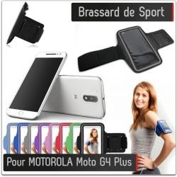 Brassard Sport MOTOROLA Moto G4 Plus pour Courir Respirant Housse Etui coque T7