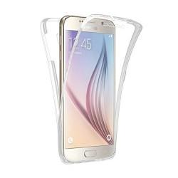 Coque Silicone Intégrale SAMSUNG Galaxy S6 Transparente Protection Gel Souple