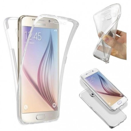 Coque Silicone Intégrale SAMSUNG Galaxy S7 Transparente Protection Gel Souple Housse Etui