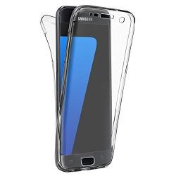 Coque Silicone Intégrale SAMSUNG Galaxy S7 Edge Transparente Protection Gel Souple
