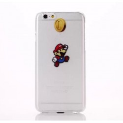 Coque Silicone IPHONE 6/6S Mario APPLE Nintendo Jeux Video Cartoon Protection Gel Souple Housse Etui