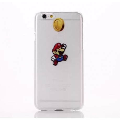Coque Silicone IPHONE Mario APPLE Nintendo Jeux Video Cartoon Protection Gel Souple Housse Etui