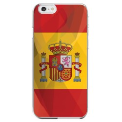 Coque Silicone IPHONE 6/6S Drapeau Espagne Espagnol APPLE Transparente Protection Gel Souple Housse Etui