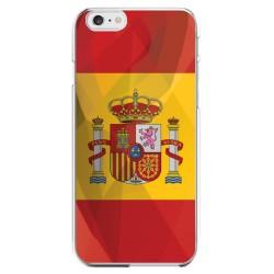 Coque Silicone IPHONE 6/6S PLUS Drapeau Espagne Espagnol APPLE Transparente Protection Gel Souple