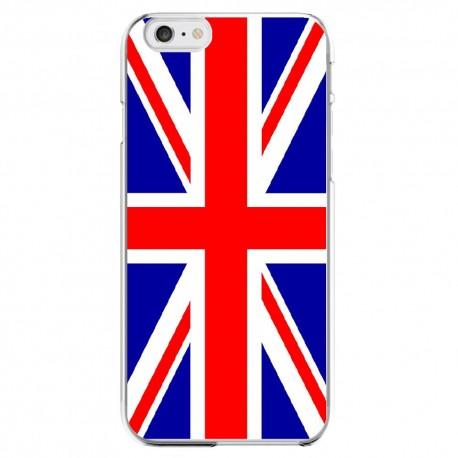 Coque Silicone IPHONE 6/6S Drapeau Royaume-Uni UK Angleterre Anglais APPLE Transparente Protection Gel Housse Etui