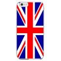 Coque Silicone IPHONE 6/6S Drapeau Royaume-Uni UK Angleterre Anglais APPLE Transparente Protection Gel