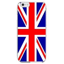 Coque Silicone IPHONE 6/6S PLUS Drapeau Royaume-Uni UK Angleterre Anglais APPLE Transparente Protection Gel