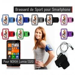 Brassard Sport Nokia Lumia 1320 Housse Etui coque