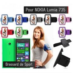 Brassard Sport Nokia Lumia 735 Housse Etui coque