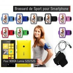 Brassard Sport Nokia Lumia 520 Housse Etui coque
