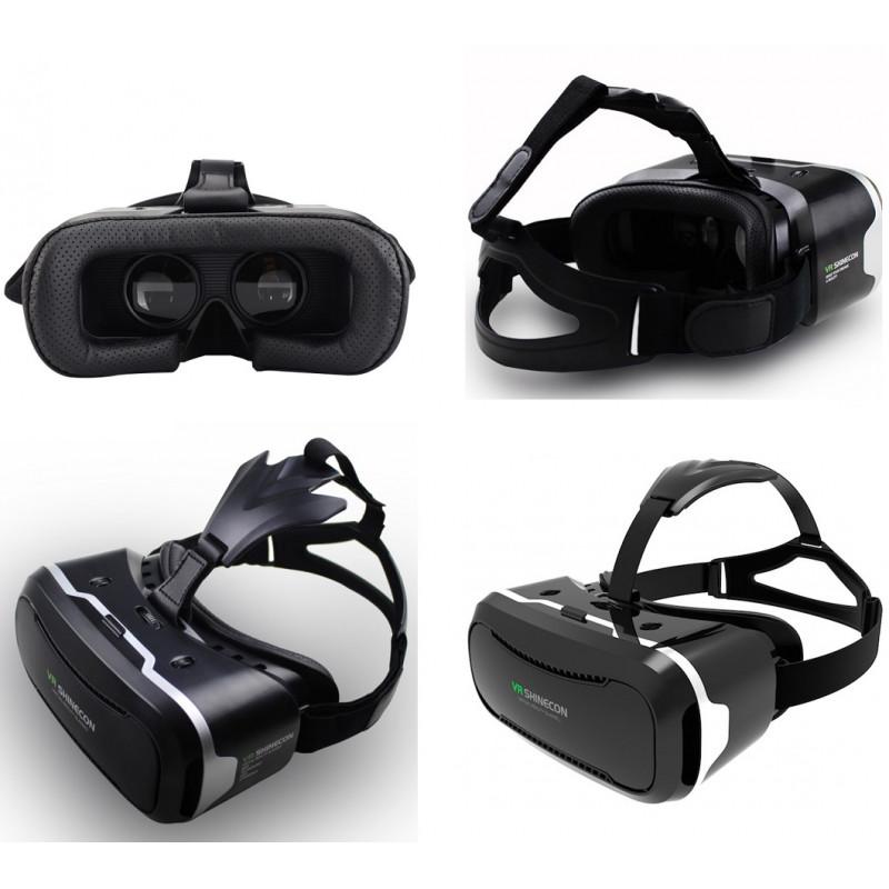 396464d31009f ... Casque VR pour Smartphone Réalité Virtuelle Lunette Jeux Reglage  Universel