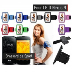 Brassard Sport LG NEXUS 4 Housse Etui coque