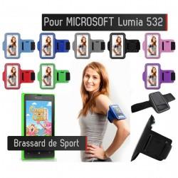 Brassard Sport Microsoft Lumia 532 Housse Etui coque
