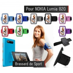 Brassard Sport Nokia Lumia 820 Housse Etui coque