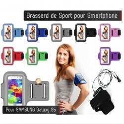 Brassard Sport Samsung Galaxy S5 Housse Etui Coque