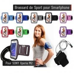 Brassard Sport Sony Xperia M2 Housse Etui Coque