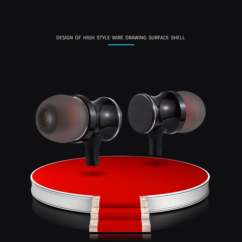Ecouteurs Bluetooth Metal pour IPHONE Xs Smartphone Sans Fil Telecommande Son Main Libre INTRA AURICULAIRE Universel Shot Case, accessoires de