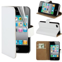 Coque Portefeuille IPHONE 4/4S NEW