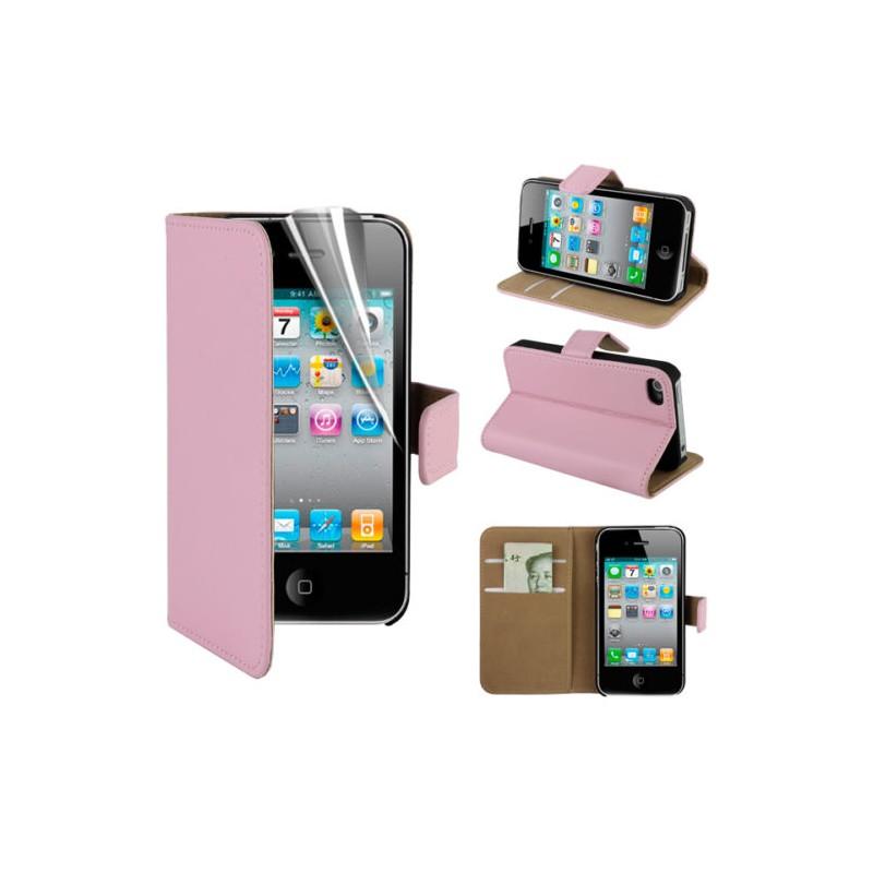 coque housse etui portefeuille iphone 4 4s shot case. Black Bedroom Furniture Sets. Home Design Ideas