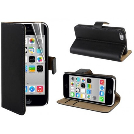 Coque Portefeuille IPHONE 5C NEW