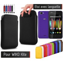 Etui Pull up Wiko Kite