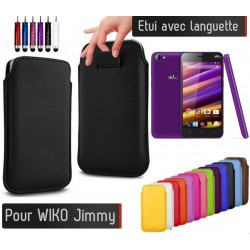 Etui Pull up Wiko Jimmy