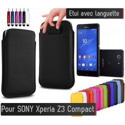 Etui Pull up Sony Xperia Z3 compact