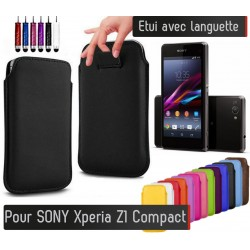 Etui Pull up Sony Xperia Z1 compact