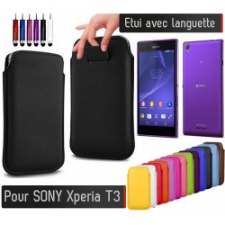 Etui Pull up Sony Xperia T3
