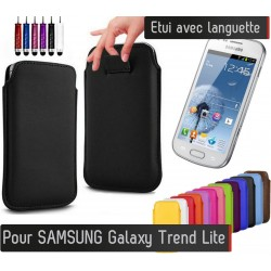 Etui Pull up Samsung Galaxy Trend Lite