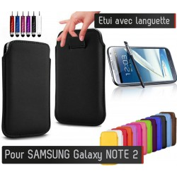 Etui Pull up Samsung Galaxy Note 2