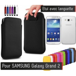 Etui Pull up Samsung Galaxy Grand 2