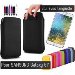 Etui Pull up Samsung Galaxy E7