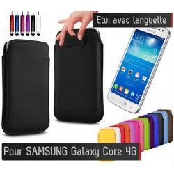 Etui Pull up Samsung Galaxy Core 4g