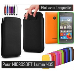 Etui Pull up Microsoft Lumia 435