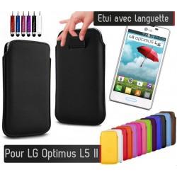 Etui Pull up LG Optimus L5 II